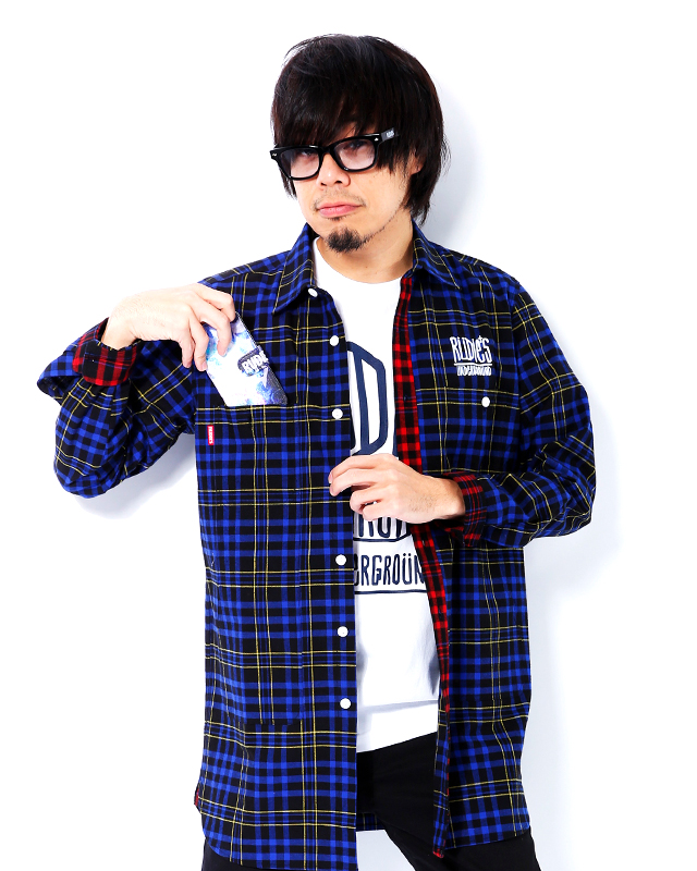 DRAWING LONG CHECK SHIRTS JKT03.jpg