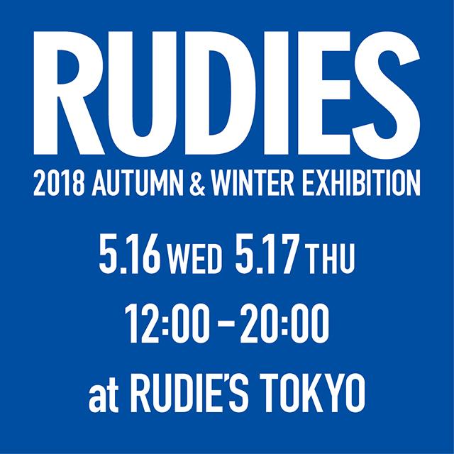 RUDIE'S 2018AW EXHIBITION DM.jpg
