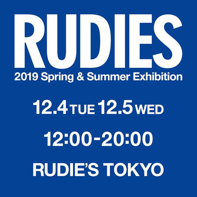 RUDIE'S 2019SS EXHIBITION.jpg