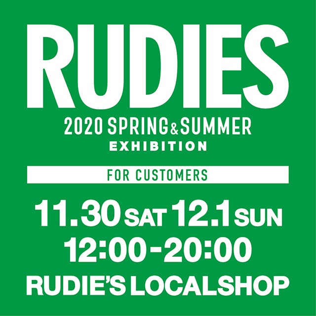 RUDIE'S 2020SS EXHIBITION_local.jpg