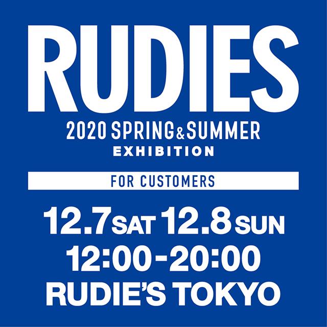 RUDIE'S 2020SS EXHIBITION_tokyo.jpg